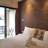 Deluxe Tek Büyük Yataklı Oda - Balkon