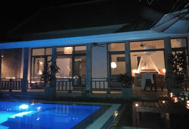 My Dream Boutique Resort, Luang Prabang, Villa, 1 kingsize-seng, utsikt mot basseng (Free Airport Return Transfer), Privat basseng