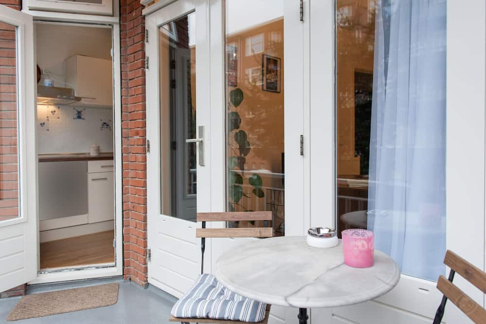 Departamento, 1 habitación, balcón, vista a la ciudad (Baetostraat) - Balcón