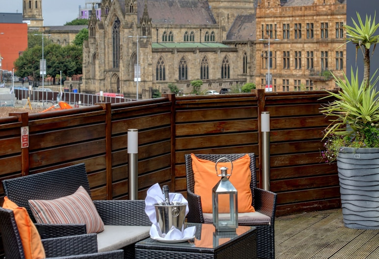 The Ainscow Hotel, BW Premier Collection, Salford, Blick auf die Stadt