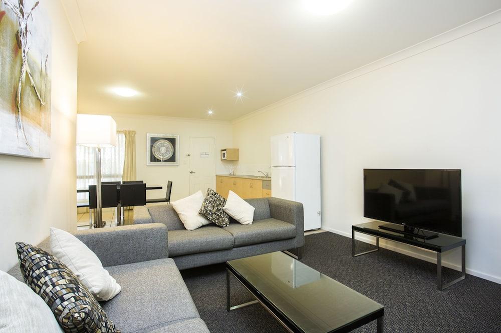 อพาร์ทเมนท์, 3 ห้องนอน (NO HOUSEKEEPING SERVICE) - พื้นที่นั่งเล่น
