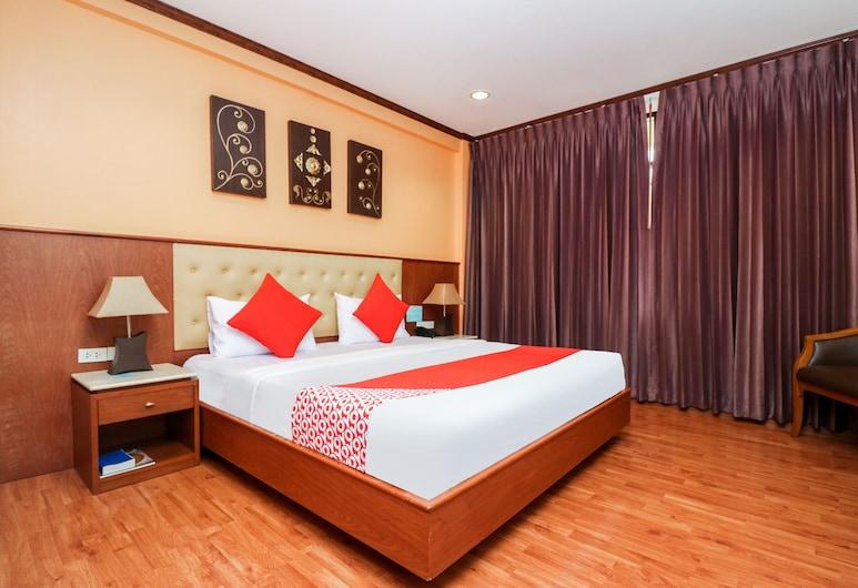 Malaysia Hotel Bangkok, Bangkok, Deluxe Tek Büyük Yataklı Oda, Havuz Manzaralı, Oda