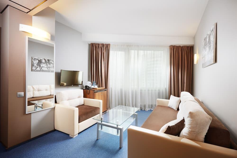 スイート 1 ベッドルーム - リビング エリア
