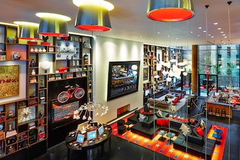Foto del citizenM New York Times Square en Nueva York