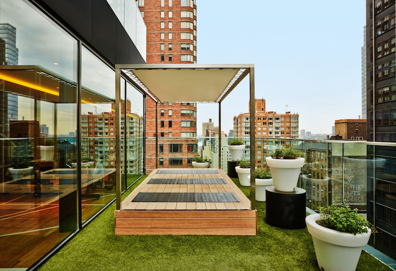 citizenM New York Times Square, New York, Terrace/Patio