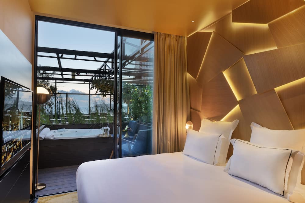 Terrace Room with outdoor Jacuzzi  - Oda