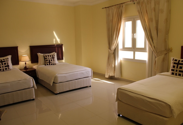 Nizwa Hotel Apartments, Nizwa, Deluxe-Apartment, 2Schlafzimmer, Zimmer