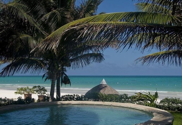 Kin Sol Soleil Maroma Bay, Playa del Carmen, Deluxe Family Suite 2 bedrooms, Piscina all'aperto
