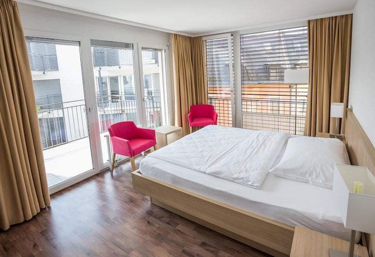 호텔 외를리콘 인, 취리히, 슈피리어 더블룸, 객실 전망