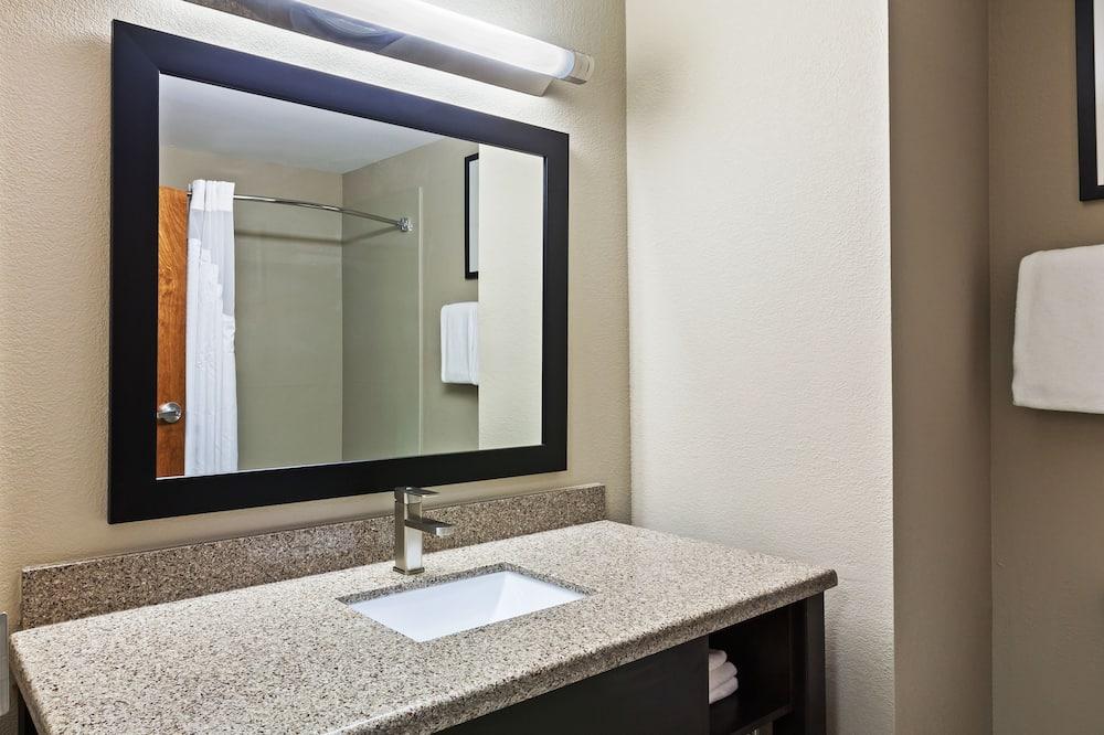ห้องพัก, เตียงคิงไซส์ 1 เตียง, พร้อมสิ่งอำนวยความสะดวกสำหรับผู้พิการ, ปลอดบุหรี่ (Hearing) - ห้องน้ำ