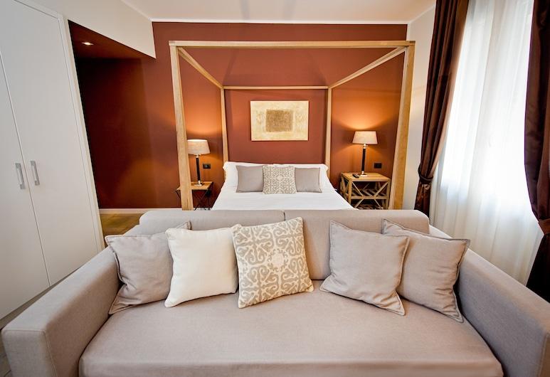 Delle Vittorie Luxury Suites & Rooms, Палермо, Полулюкс, 1 двуспальная или 2 односпальные кровати (Family), Вид из номера