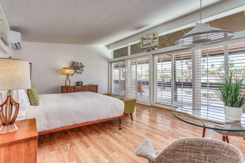 尊榮客房, 1 張特大雙人床, 簡易廚房 - 客房