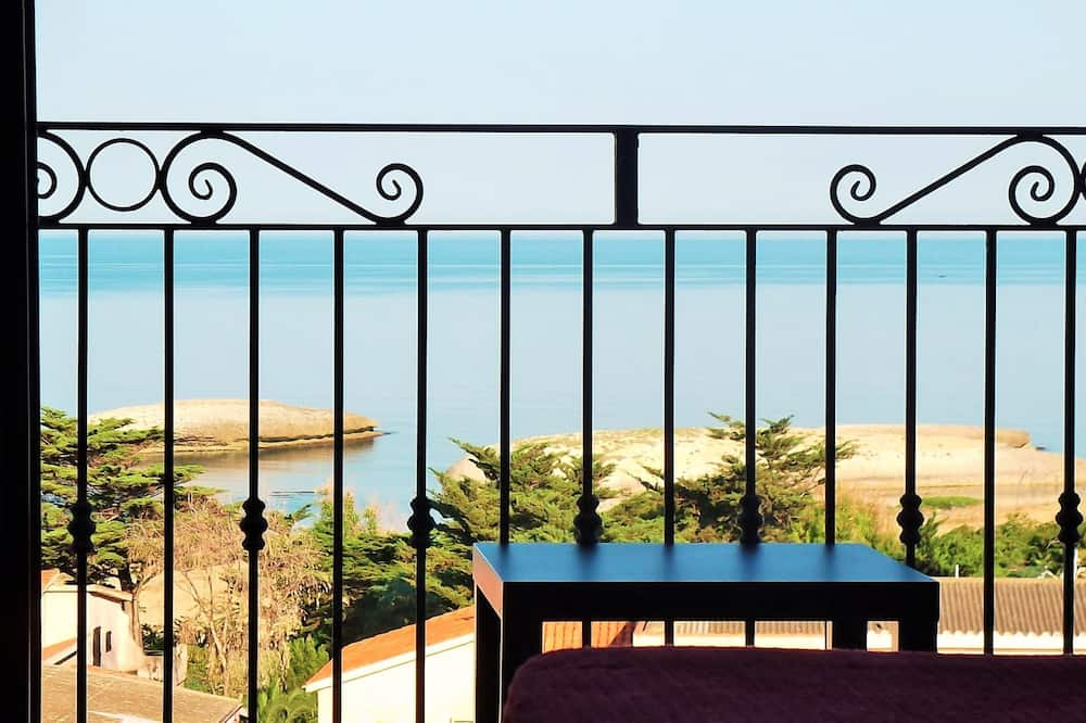 Üç Kişilik Oda, Balkon, Deniz Manzaralı - Balkon