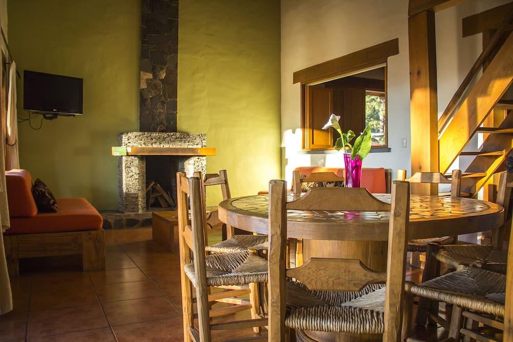 小屋, 2 間臥室, 壁爐 - 客房內用餐