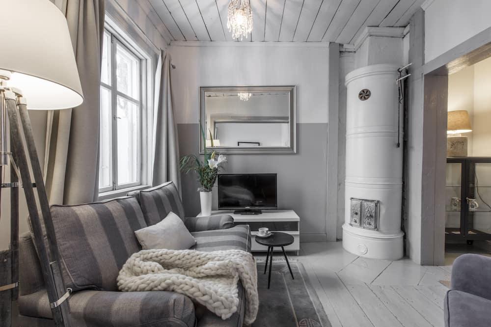 Apartment with Own Entrance - Salle de séjour