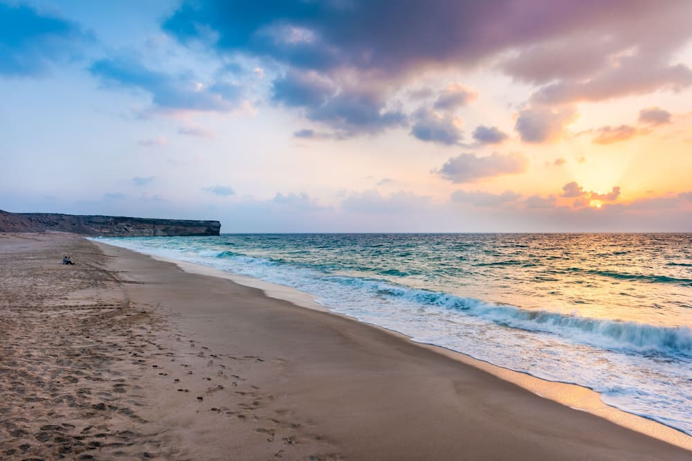 Luxury Eco Tent - Vaade rannale/ookeanile
