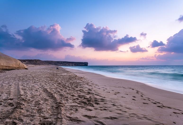 Ras Al Jinz Turtle Reserve, Al Hadd, Strand
