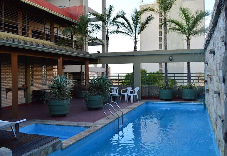 Aspen Hotel & Apart, Asunción, Открытый бассейн