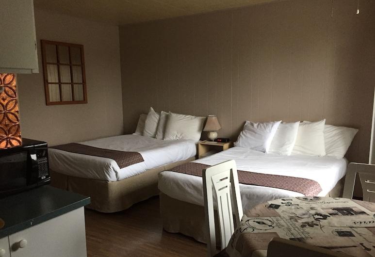 勒布朗汽車旅館, 卡爾頓海濱, 高級客房, 2 張標準雙人床, 簡易廚房, 客房