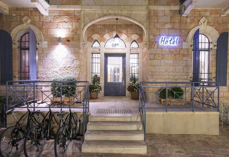 Villa Ba'Moshava - a Member of Brown Hotels, Yerusalem, Bagian Depan Hotel - Sore/Malam