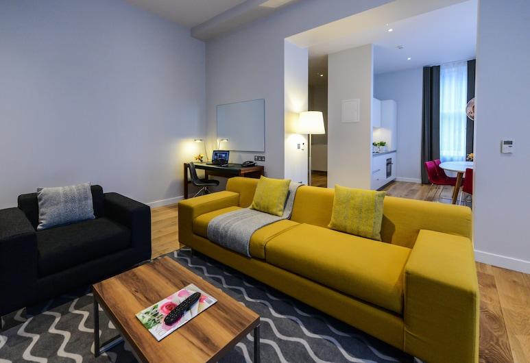Premier Suites Plus Dublin Ballsbridge, Dublin, Executive-Apartment, 1 Doppelbett, Wohnbereich