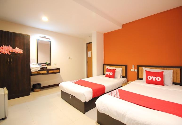 OYO 482 パニー ロッジ カオサン, バンコク, スタンダード ツインルーム, 部屋