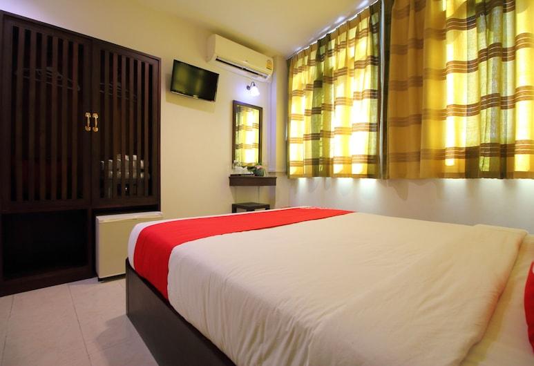 OYO 484 Pannee Residence Khaosan, Bangkok, Standaard tweepersoonskamer, Kamer