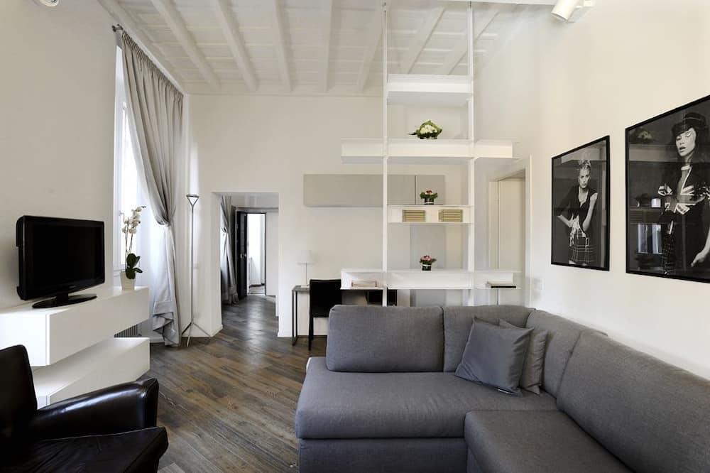 Lägenhet (Navona - Via dei Gigli d'Oro, 26) - Vardagsrum