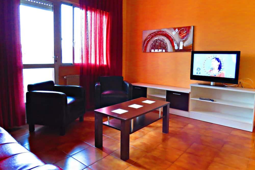 Apartment, 2Schlafzimmer (4/5) - Wohnzimmer