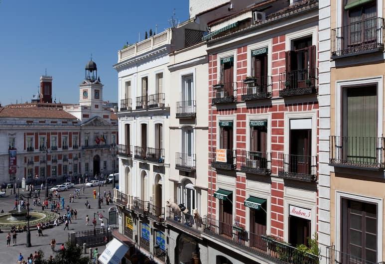 Hotel El Mirador Puerta del Sol, Madrid, Udsigt fra hotellet