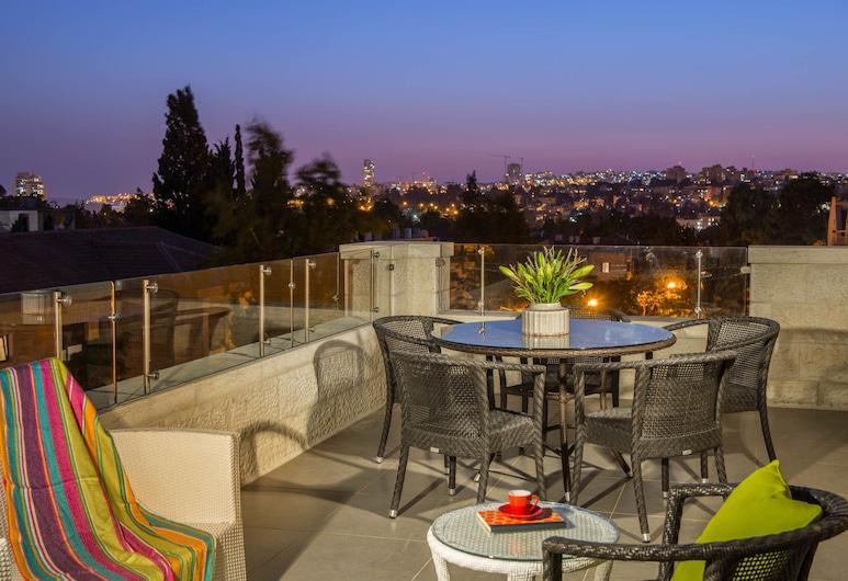 Rafael Residence, Jerusalem, Penthouse, Terrace, Balcony