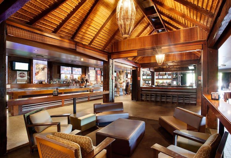 Villa Noosa Hotel, Noosaville, Bar-salon de l'hôtel