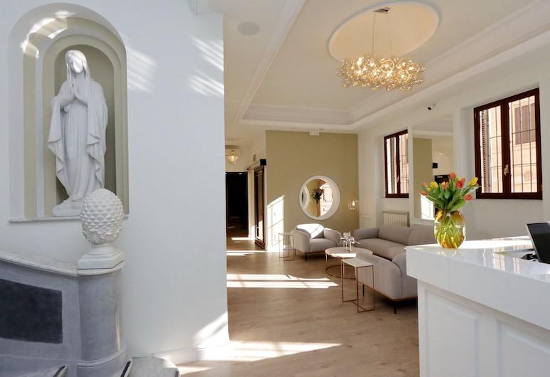 Casa Santa Sofia Hotel, Rom, Entrén inifrån