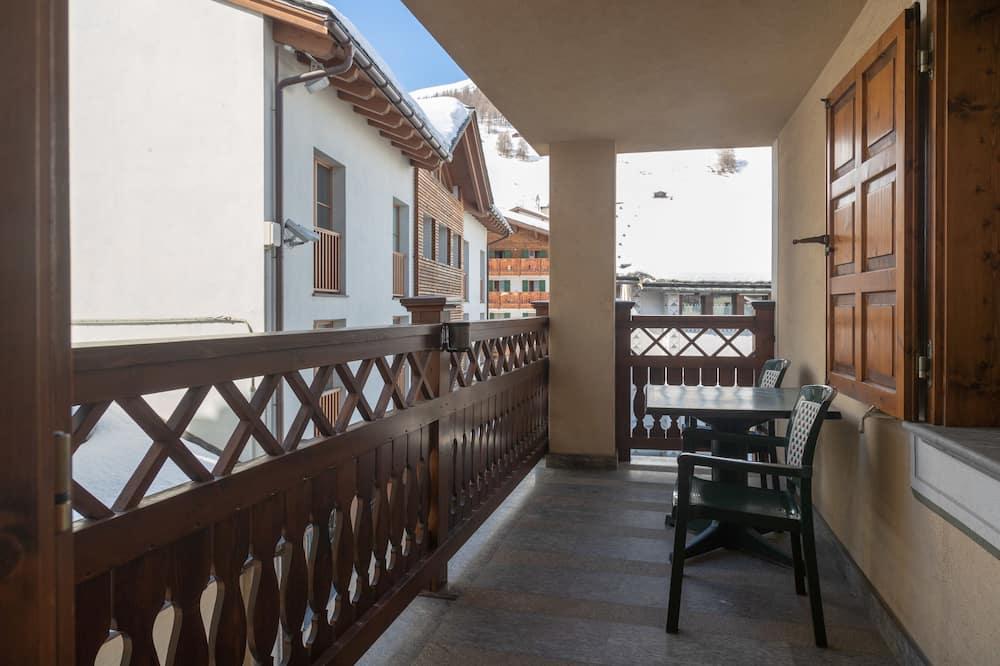 Comfort szoba két külön ággyal, 2 egyszemélyes ágy, erkély - Erkély