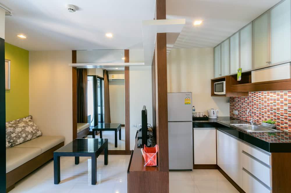 חדר אקסקלוסיבי, חדר שינה אחד - אזור מגורים