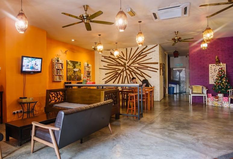 探索者旅館及青年旅舍, 吉隆坡, 大堂閒坐區