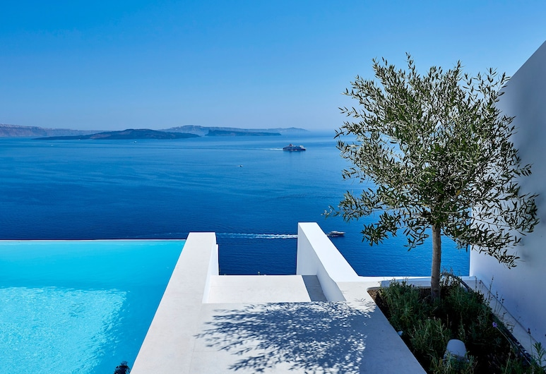 Amaya Selection of Villas, Santorini, Amaya Serenity Villa Private Pool - Caldera View, Terrace/Patio