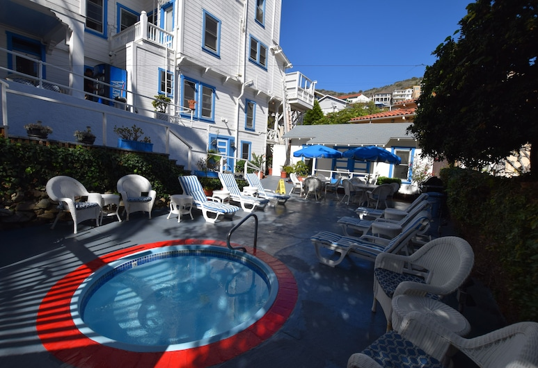 Hotel Catalina, Avalonas, SPA vonia lauke