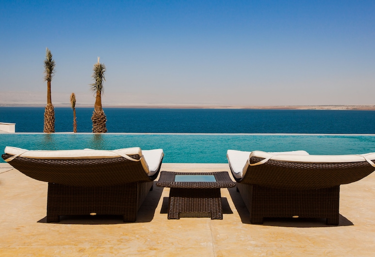 Hilton Dead Sea Resort & Spa, Sweimeh, Alberca infinita