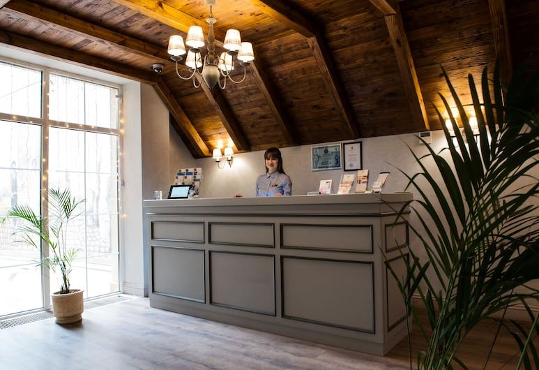 Premier Geneva Hotel, Odessa, Réception