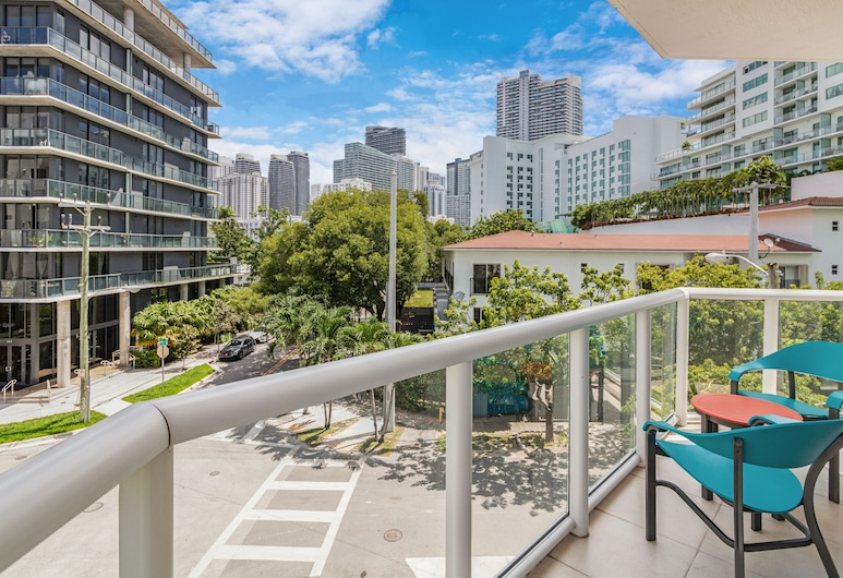 Habitat Brickell by Sextant, Majamis, Standartinio tipo apartamentai, 1 miegamasis, Balkonas