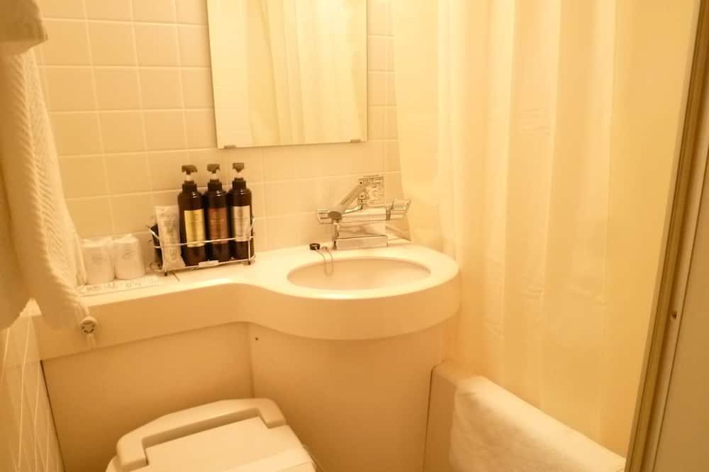 シングルルーム 喫煙可 - バスルーム