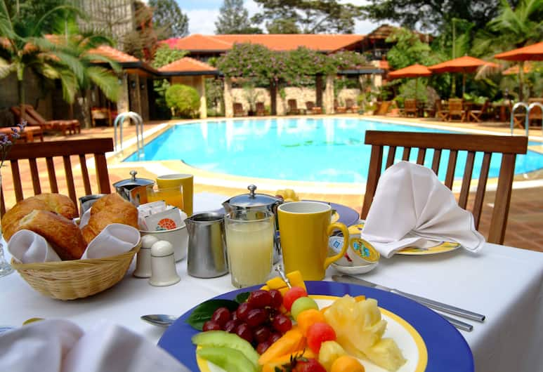 Fairview Hotel, Nairobi, Outdoor Dining