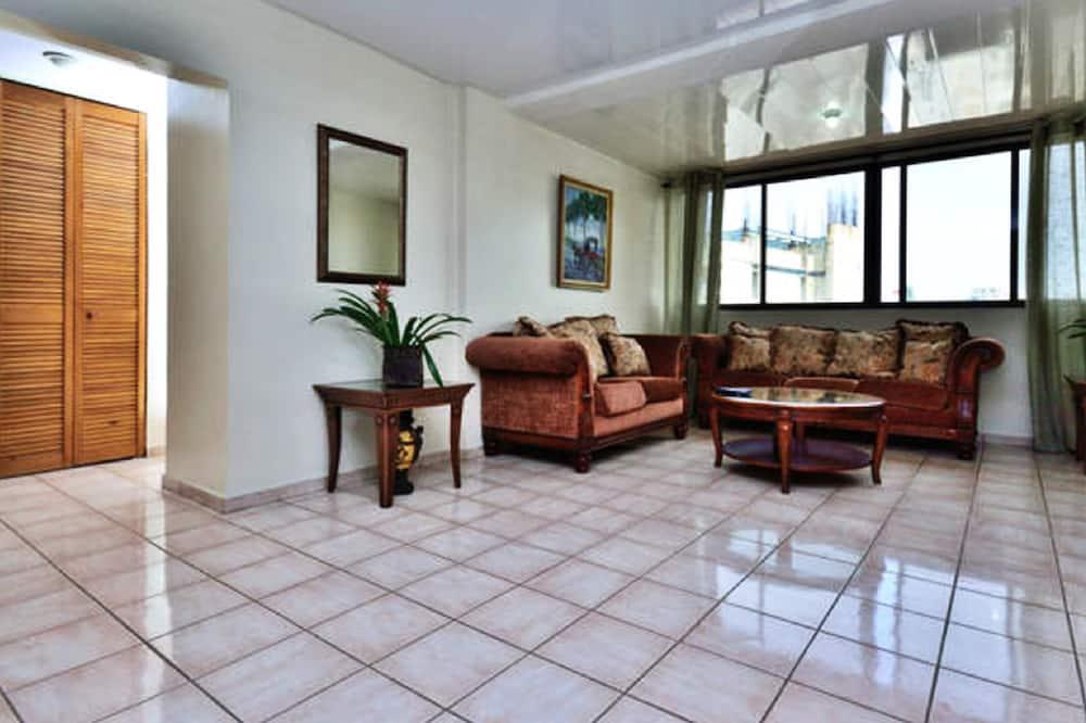 Deluxe-Apartment, 2Schlafzimmer - Wohnzimmer