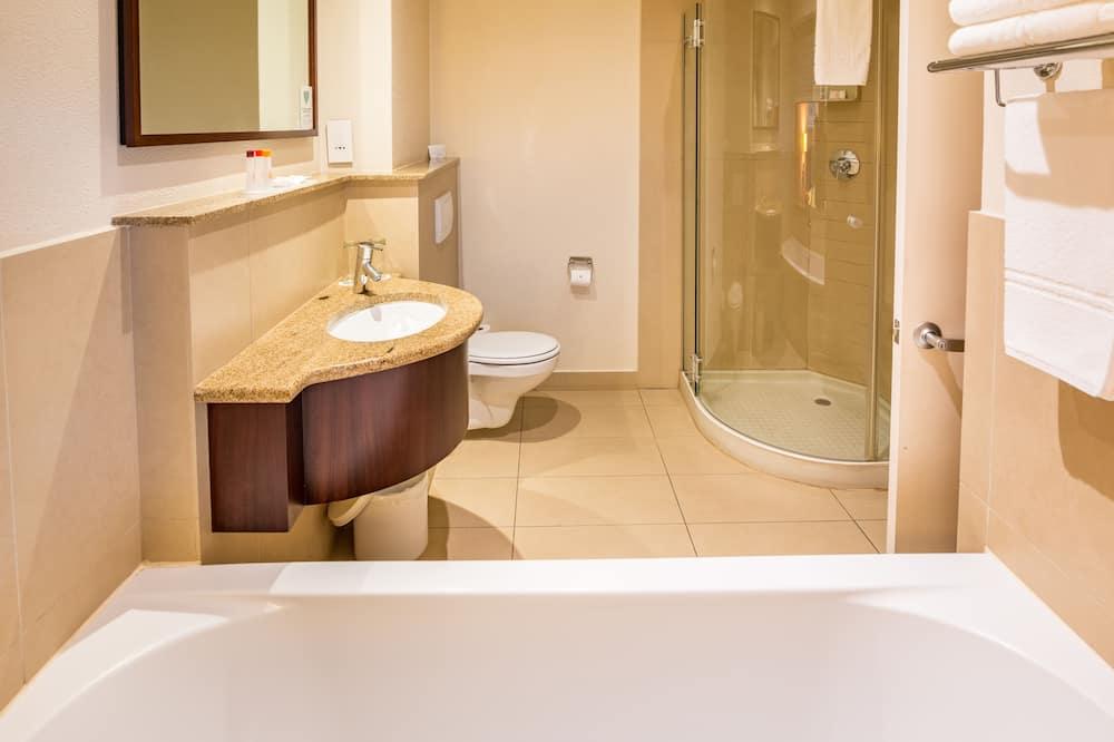 Номер с 2 односпальными кроватями, для курящих - Ванная комната