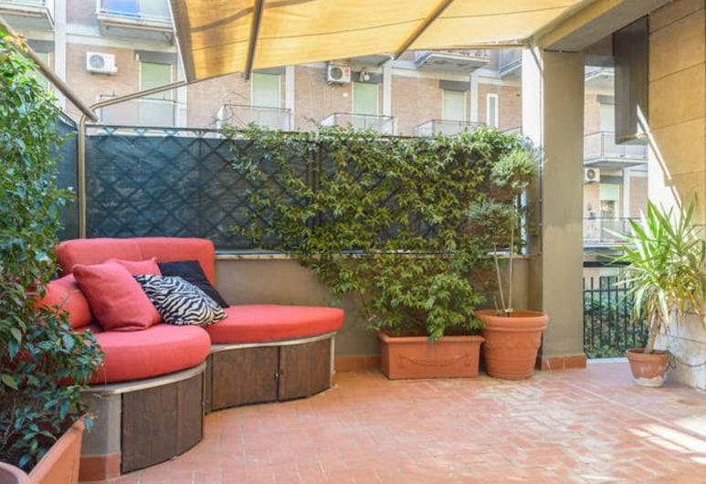 La Bella Sosta, Rome, Apartment, 1 Bedroom (Vaticano- Viale delle Mura Aurelie 7c), Terrace/Patio