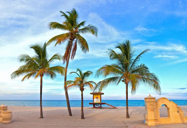 Caribbean Resort Suites, Holivudas, Paplūdimys