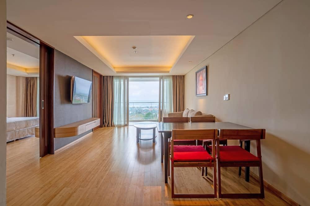 Suite – executive, 1 soverom, ikke-røyk, utsikt mot bukt - Oppholdsområde
