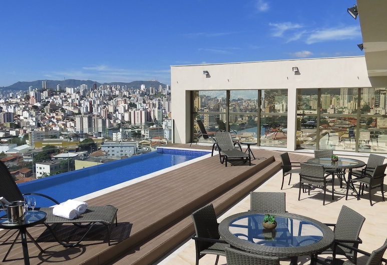 Hotel Beaga Convention Expominas by MHB, Belo Horizonte, Infinity-Pool