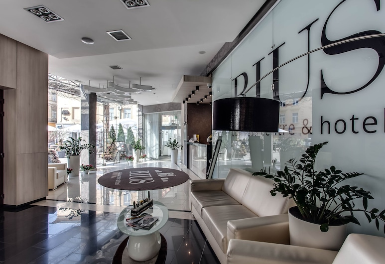 Rius Hotel, Lvov, Lobby
